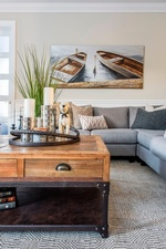 Decorative Accents on Coffee Table - Living Space Decorating Services Aurora by Royal Interior Design Ltd