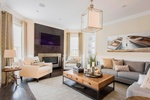 Open Concept Living Space Decorating Services Whitby by Royal Interior Design Ltd