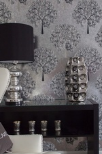 Accents on Console Table - Living Space Decor Markham by Royal Interior Design Ltd