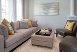Modern Furniture - Living Space Renovations Aurora by Royal Interior Design Ltd