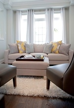 Bright Living Space Renovations Whitby by Royal Interior Design Ltd