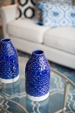 Ceramic Table Accents - Living Space Design GTA by Royal Interior Design Ltd