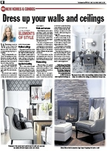Newspaper mentions for Royal Interior Design Ltd.