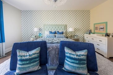 Blue Children Space Design by Royal Interior Design Ltd. - Bedroom Renovations Whitby