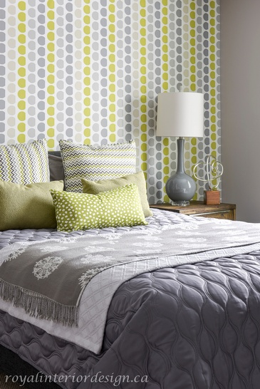 Urban Retro Themed Bedroom Decoration Service Whitby by Royal Interior Design Ltd.