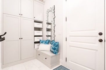 Simply White Mud Room Renovation Newmarket by Royal Interior Design Ltd.