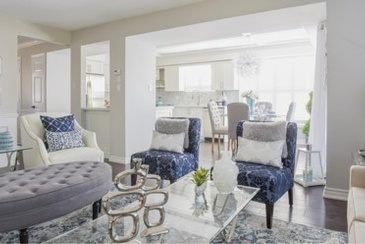 Nautical Living Space Renovations Whitby by Royal Interior Design Ltd.