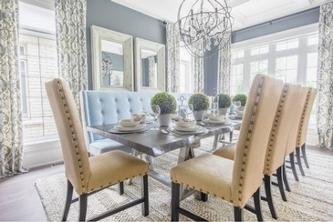 Canary Vibe - Dining Room Renovations Newmarket by Royal Interior Design Ltd.