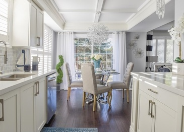 Fresh Kitchen Dining Room Renovations Stouffville by Royal Interior Design Ltd.