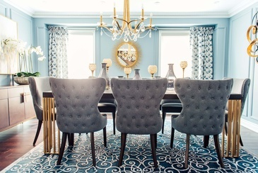 Timeless Dining Room Renovations by Royal Interior Design Ltd.