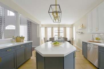 Modern With a Twist - Kitchen Interior Design by Royal Interior Design Ltd.