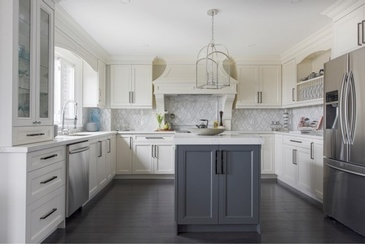 Traditional Classy - Kitchen Interior Design by Royal Interior Design Ltd.