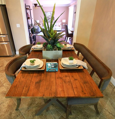 Neatly Arranged Dining Table - Urban 57 Home Decor Interior Design, Furniture Store in Sacramento