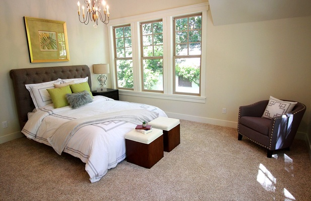 Master Bedroom - Interior Decoration in Sacramento CA by Urban 57 Home Decor Interior Design