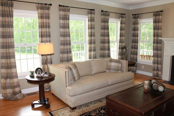 Modern Family Room in Portsmouth NH