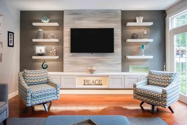 Living Room Design Windham by Tout Le Monde Interiors