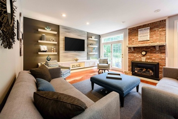 Living Room Remodeling Services by Tout Le Monde Interiors