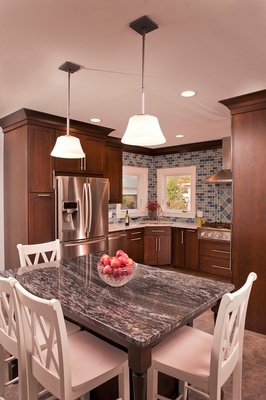 Kitchen Renovation Salem by Tout Le Monde Interiors