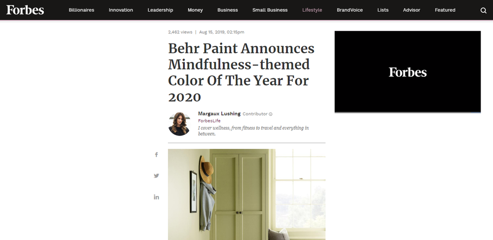 Behr Paint Announces Mindfulness-themed Color Of The Year For 2020.png