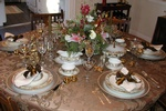 Holiday Table Decor by Interior Decorator Bedford - Tout Le Monde Interiors