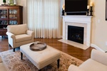 Living Room Remodeling Bedford by Tout Le Monde Interiors