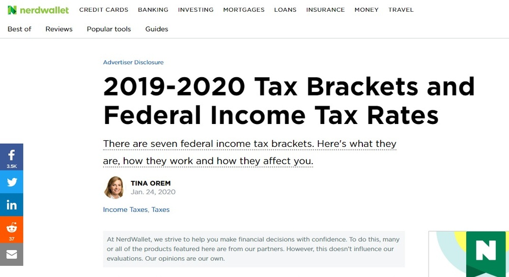 2019-2020 Federal Income Tax Brackets and Tax Rates - NerdWallet.jpg
