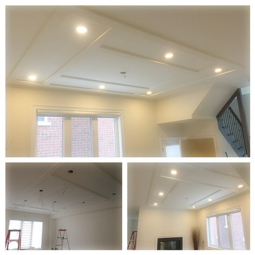 Pot Light Installation in Pickering by H MAN ELECTRIC