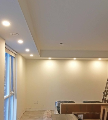 Pot Light Installation in Richmond Hill by H MAN ELECTRIC