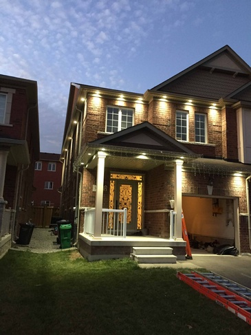 Outdoor Light Fittings by Professional Electricians in Mississauga - H MAN ELECTRIC