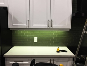 Under Cabinet Kitchen Lighting by H MAN ELECTRIC