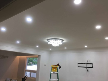 Pot Light Installation in East York by H MAN ELECTRIC