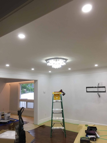 Pot Light Installation in North York by H MAN ELECTRIC