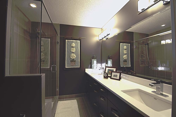 Bathroom Interior Renovation in Calgary by Method Residential Design