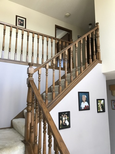 Before Staircase Remodeling by Method Residential Design - Renovation Contractors Calgary