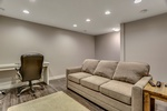 Modern Basement by Interior Designers Calgary - Method Residential Design