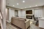 Modern Basement by Method Residential Design - Home Interior Design Calgary