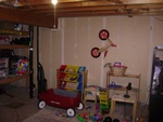 Basement Playroom Before Interior Design Services Okotoks by Method Residential Design