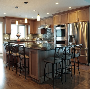 Kitchen Interior Improvements in Deer Run, Calgary by Method Residential Design