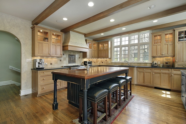 Natural Wood Kitchen Cabinets Atlanta - Old Castle Home Design Center