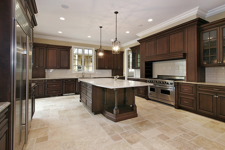 Espresso Kitchen Cabinets Atlanta - Old Castle Home Design Center