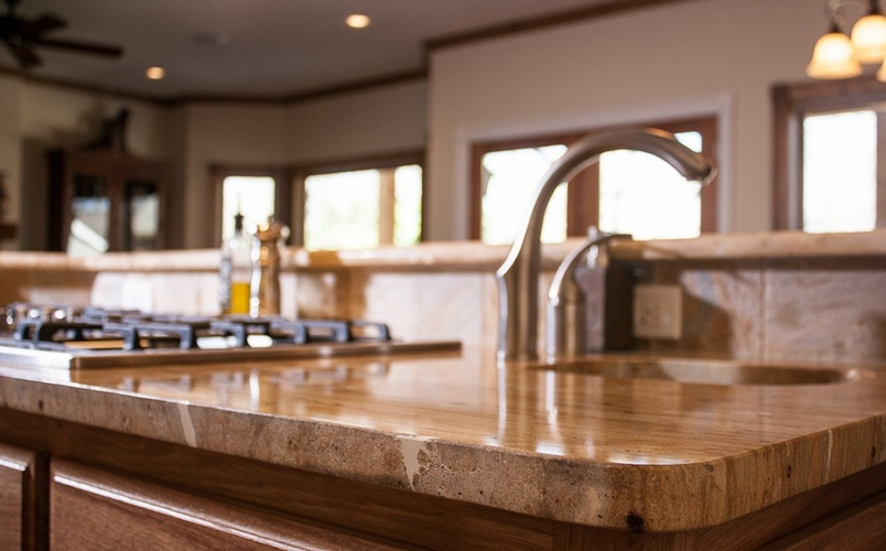 Wood Kitchen Countertop Atlanta by Old Castle Home Design Center