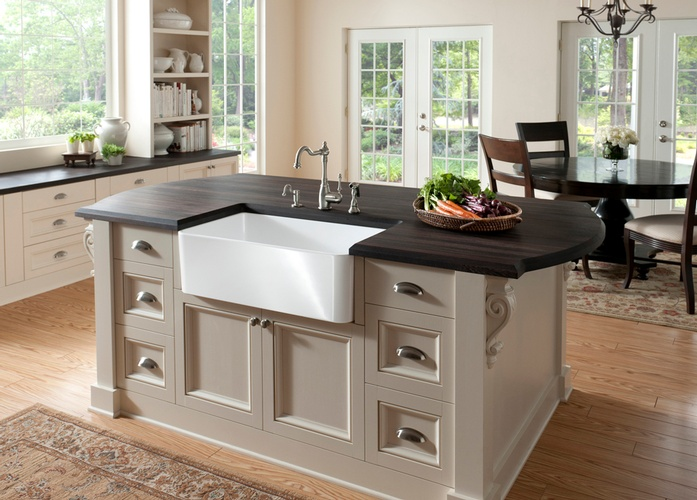 Cool Kitchen Countertops designed by Old Castle Home Design Center in Atlanta