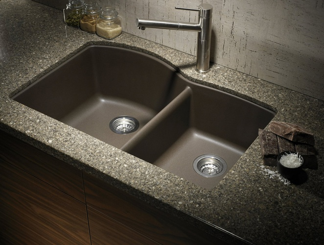 Beautiful Kitchen Sink and Faucet by Old Castle Home Design Center in Atlanta GA
