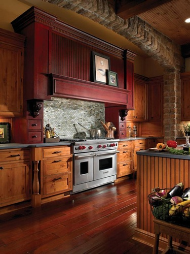 Custom Kitchen Hood Design by Old Castle Home Design Center