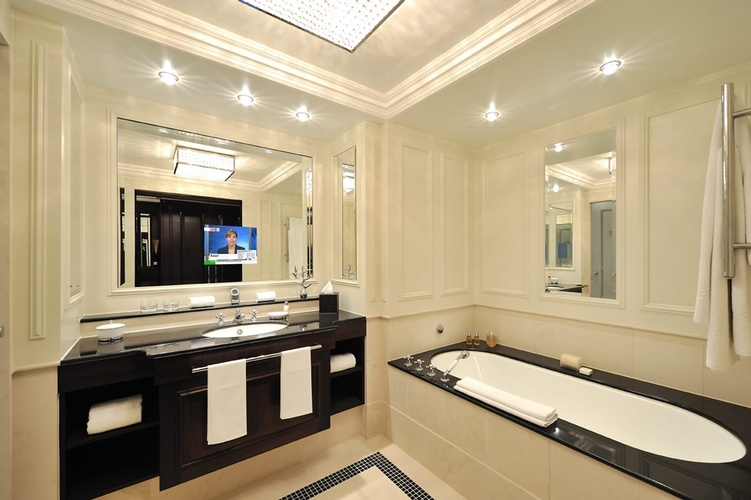 Bathroom Light Fixtures Atlanta GA by Old Castle Home Design Service