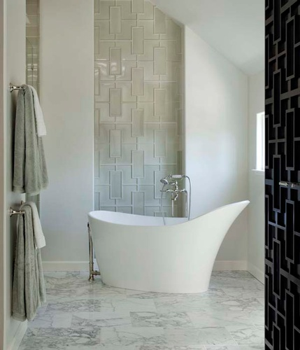 Beautiful Ceramic Floor tiles for Bathroom by Old Castle Home Design Center