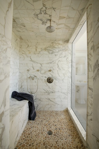 Bathroom Wall and Floor Tiles in Atlanta by Old Castle Home Design Center