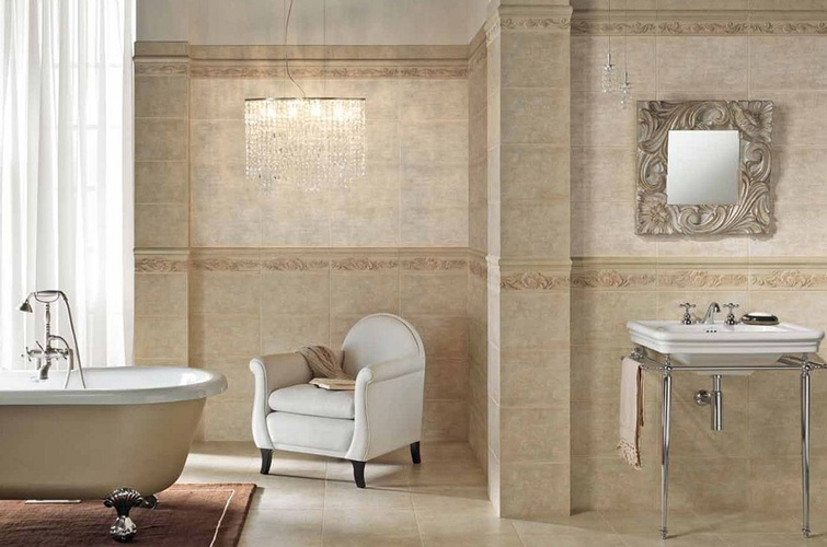 Modern Bathroom Tiles by Old Castle Home Design Center