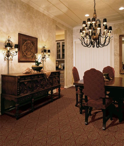 Printed Drawing Room Floor Tiles by Old Castle Home Design Center