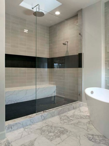 Ceramic Bathroom Tiles for Walls and Floors by Old Castle Home Design Center
